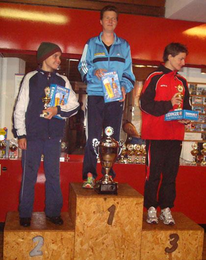 Siegerehrung BerlinMan Gesamtwertung Frauen