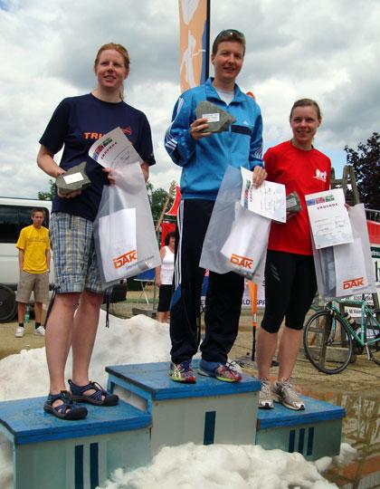 Siegerehrung Gesamtwertung Frauen
