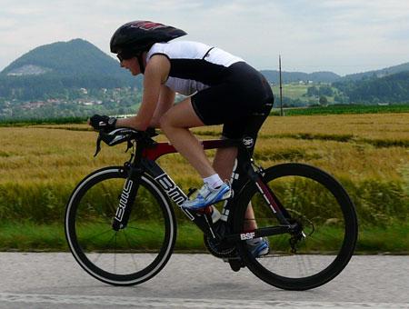 Training auf der IRONMAN-Radstrecke