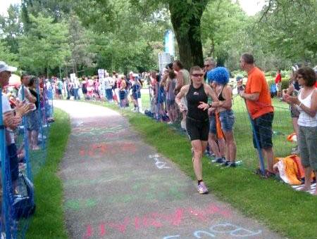Marathon mit schnellen Beinen