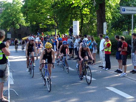 Radfahren im Team