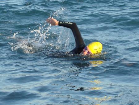 Schwimmen im Meer