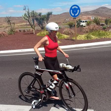 Katrin Burow beim Challenge Fuerteventura 2015