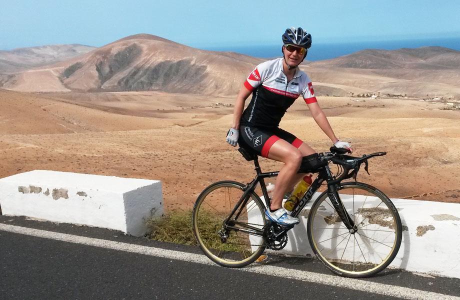 Katrin Burow - Training auf Fuerteventura 2015