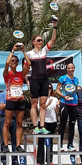 Katrin Burow belegt den 4. Platz beim Crosslauf in Gran Tarajal am 18.02.2017
