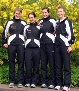 Das Team des TuS Neukölln Berlin vor dem Start in Gladbeck 2010