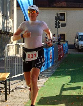 Katrin Burow Gesamtsiegerin beim Osterzgebirgs-Challenge Duathlon 2011