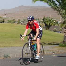 Katrin Burow im Winterflucht Camp in Fuerteventura 2012