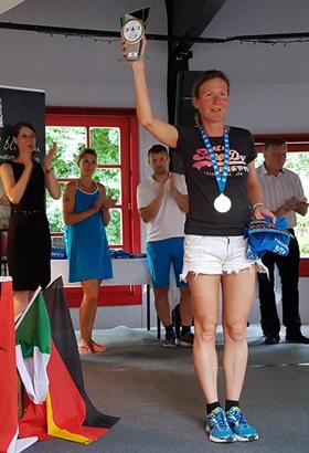 Katrin Burow ist Weltmeisterin im Triple Ultra Triathlon 2017