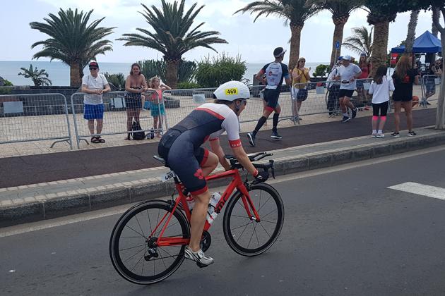 180 km Radfahren beim Ironman Lanzarote 2018