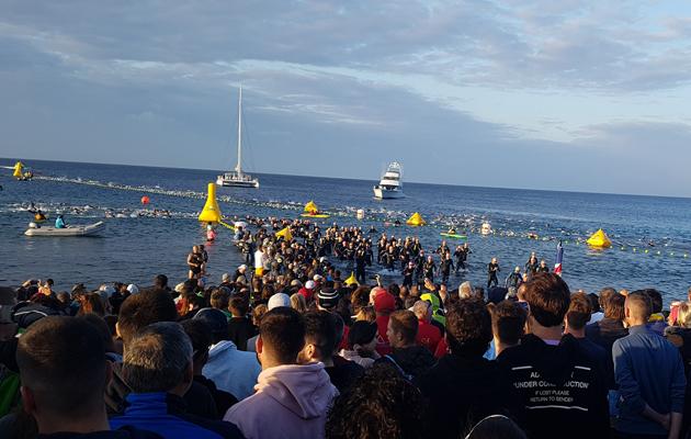 3,8 km Schwimmen beim Ironman Lanzarote 2018